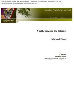 Youth, Sex, and the Internet