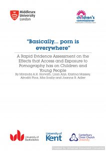 A Rapid Evidence Assessment on the Effects that Access and Exposure to Pornography has on Children and Young People