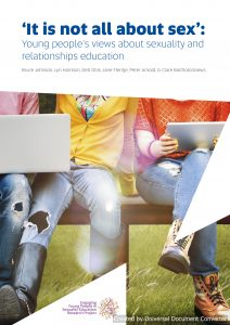 'It is not all about sex': Young people's views about sexuality and relationships education