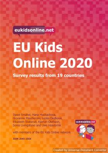 EU Kids Online 2020: survey results from 19 countries