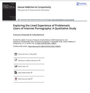 Exploring the Lived Experience of Problematic Users of Internet Pornography: A Qualitative Study